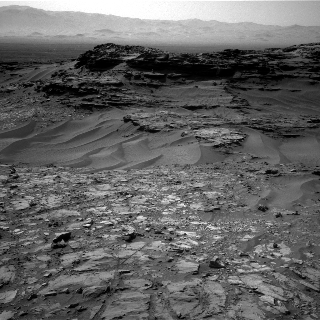Nasa's Mars rover Curiosity acquired this image using its Right Navigation Camera on Sol 1108, at drive 322, site number 50