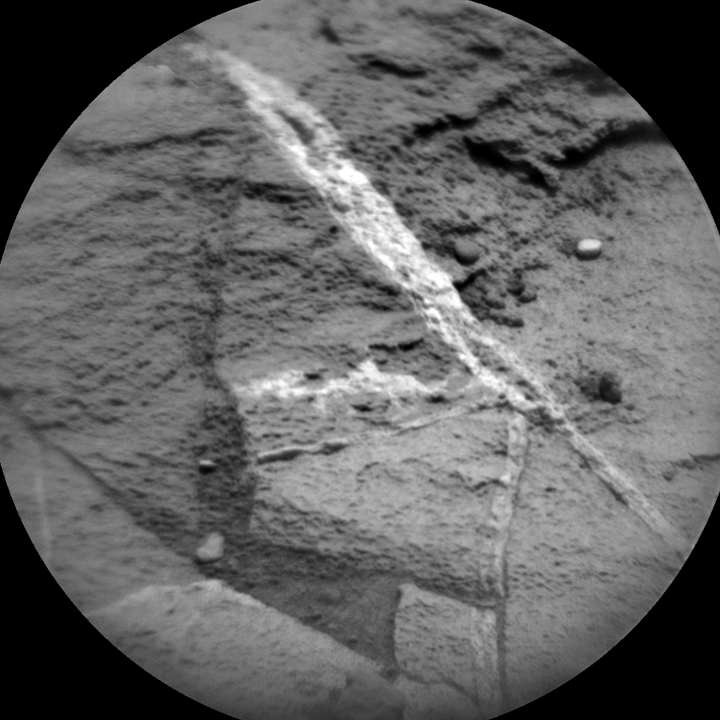 Nasa's Mars rover Curiosity acquired this image using its Chemistry & Camera (ChemCam) on Sol 1108, at drive 250, site number 50