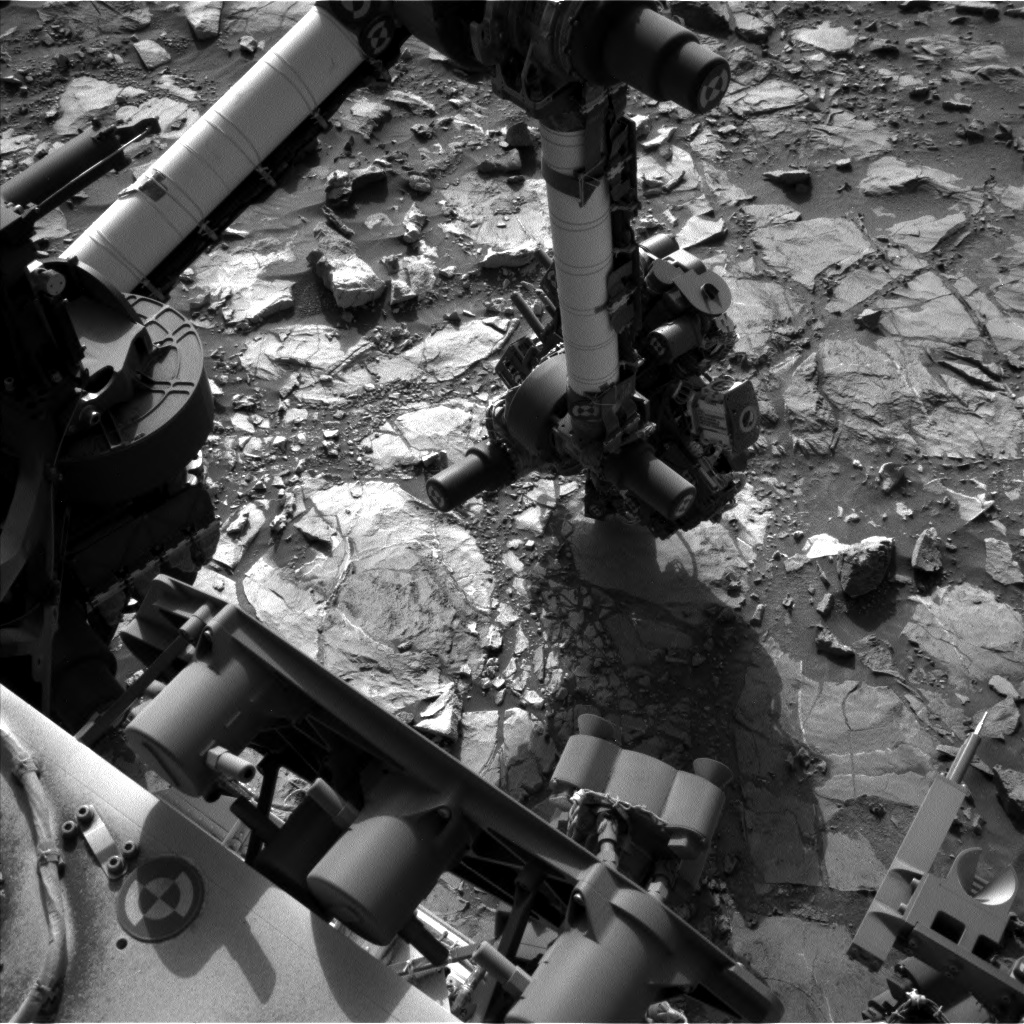 Nasa's Mars rover Curiosity acquired this image using its Left Navigation Camera on Sol 1109, at drive 322, site number 50