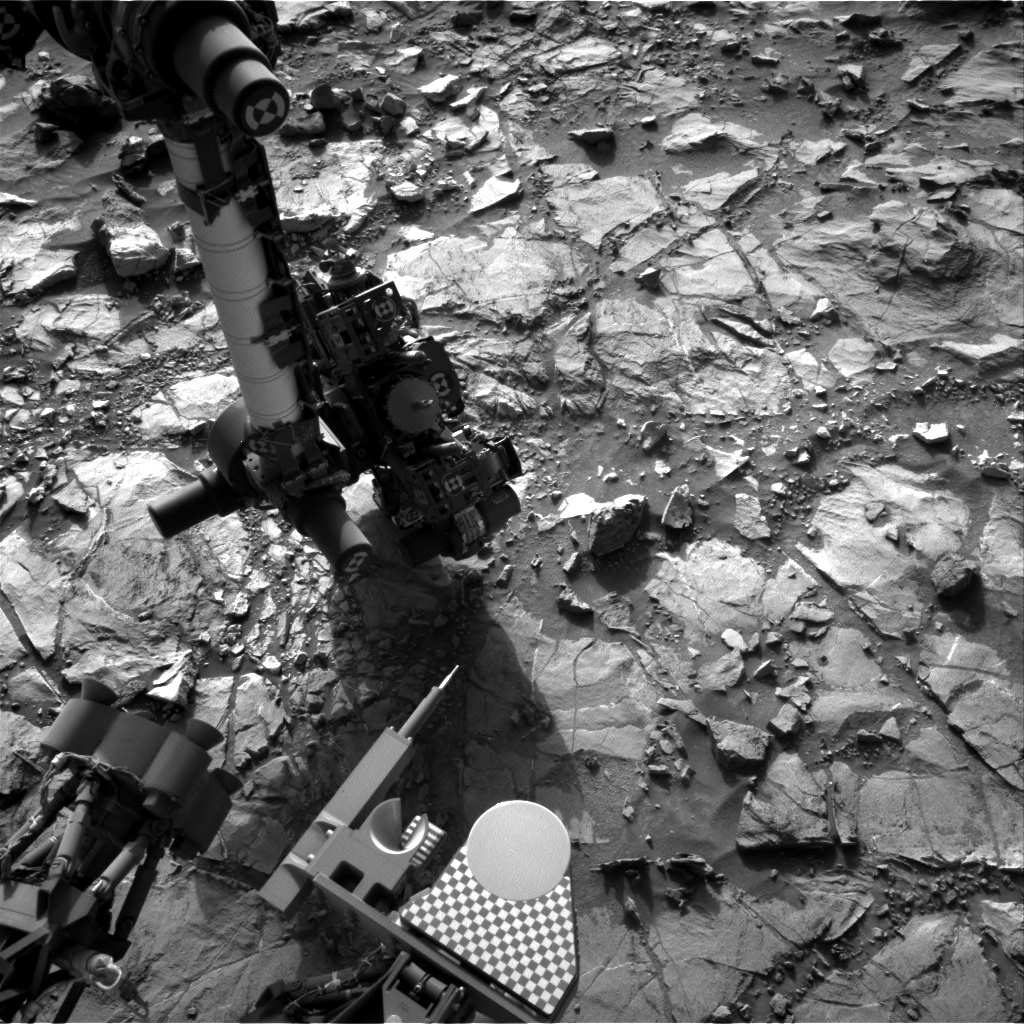 Nasa's Mars rover Curiosity acquired this image using its Right Navigation Camera on Sol 1109, at drive 322, site number 50