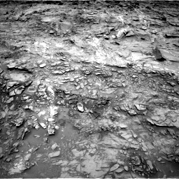 Nasa's Mars rover Curiosity acquired this image using its Left Navigation Camera on Sol 1110, at drive 346, site number 50