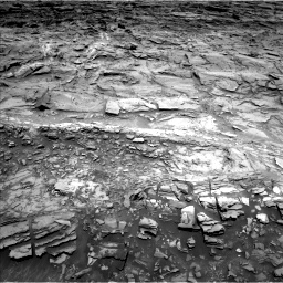 Nasa's Mars rover Curiosity acquired this image using its Left Navigation Camera on Sol 1110, at drive 364, site number 50