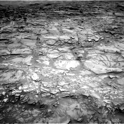 Nasa's Mars rover Curiosity acquired this image using its Left Navigation Camera on Sol 1110, at drive 376, site number 50