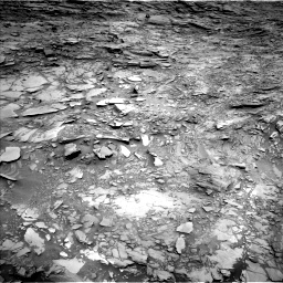 Nasa's Mars rover Curiosity acquired this image using its Left Navigation Camera on Sol 1110, at drive 406, site number 50