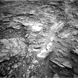 Nasa's Mars rover Curiosity acquired this image using its Left Navigation Camera on Sol 1110, at drive 436, site number 50