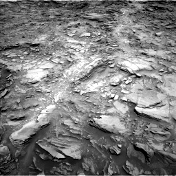 Nasa's Mars rover Curiosity acquired this image using its Left Navigation Camera on Sol 1110, at drive 442, site number 50