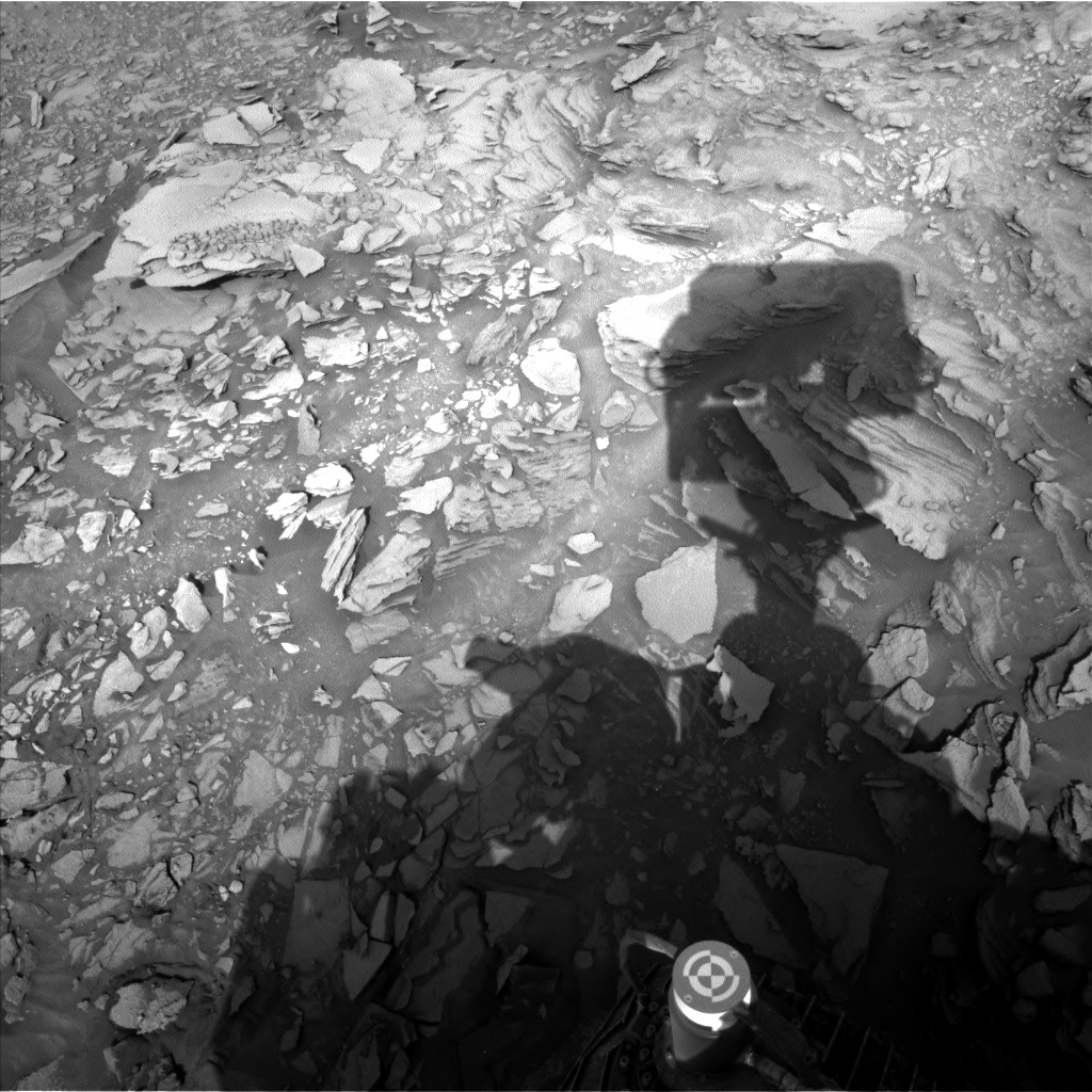 Nasa's Mars rover Curiosity acquired this image using its Left Navigation Camera on Sol 1110, at drive 448, site number 50