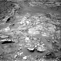 Nasa's Mars rover Curiosity acquired this image using its Right Navigation Camera on Sol 1110, at drive 322, site number 50