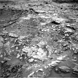 Nasa's Mars rover Curiosity acquired this image using its Right Navigation Camera on Sol 1110, at drive 334, site number 50