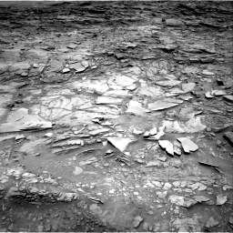 Nasa's Mars rover Curiosity acquired this image using its Right Navigation Camera on Sol 1110, at drive 388, site number 50
