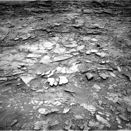 Nasa's Mars rover Curiosity acquired this image using its Right Navigation Camera on Sol 1110, at drive 394, site number 50