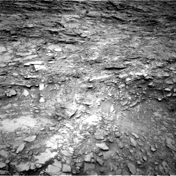 Nasa's Mars rover Curiosity acquired this image using its Right Navigation Camera on Sol 1110, at drive 412, site number 50