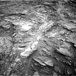 Nasa's Mars rover Curiosity acquired this image using its Right Navigation Camera on Sol 1110, at drive 436, site number 50