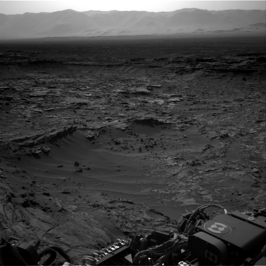 Nasa's Mars rover Curiosity acquired this image using its Right Navigation Camera on Sol 1110, at drive 448, site number 50