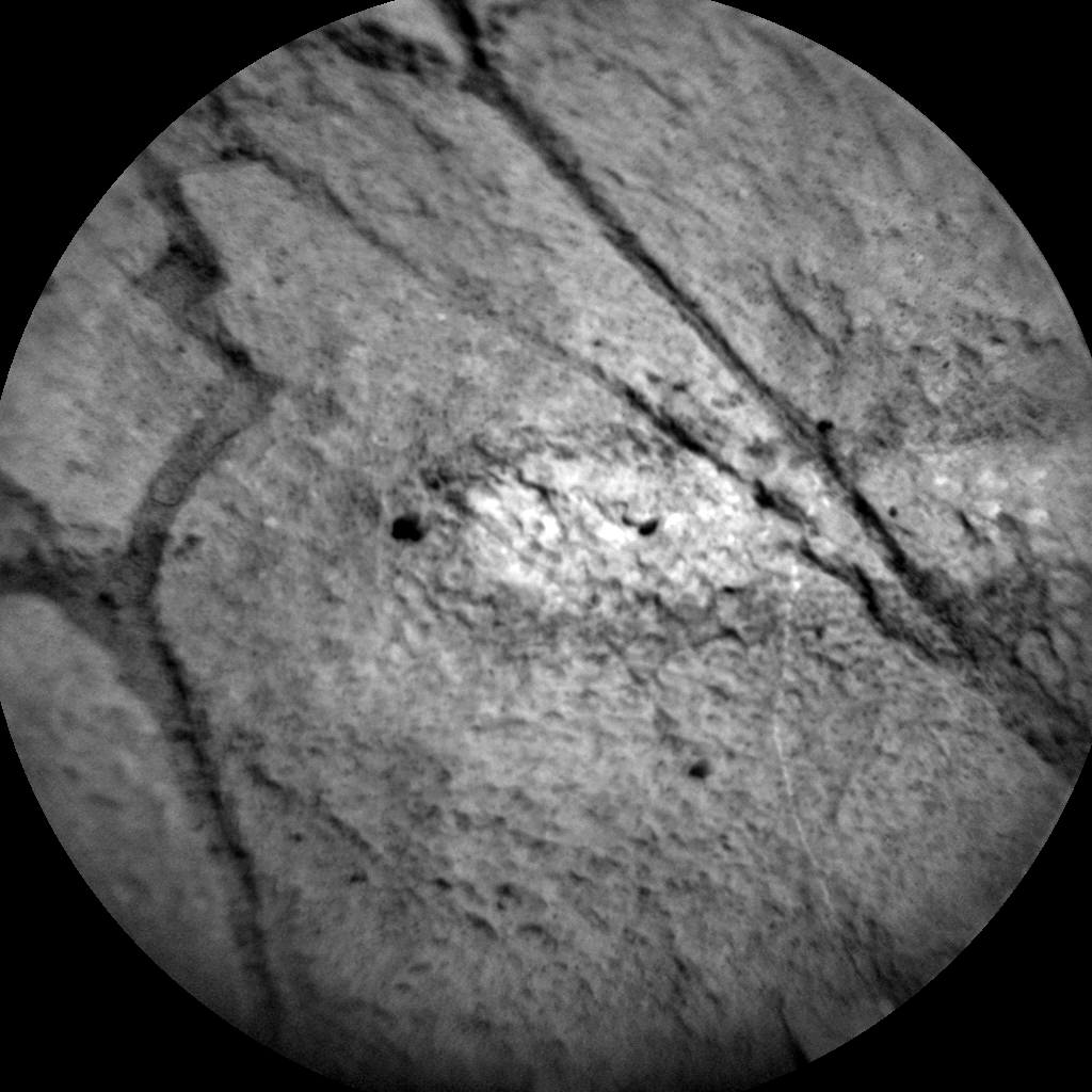 Nasa's Mars rover Curiosity acquired this image using its Chemistry & Camera (ChemCam) on Sol 1110, at drive 322, site number 50
