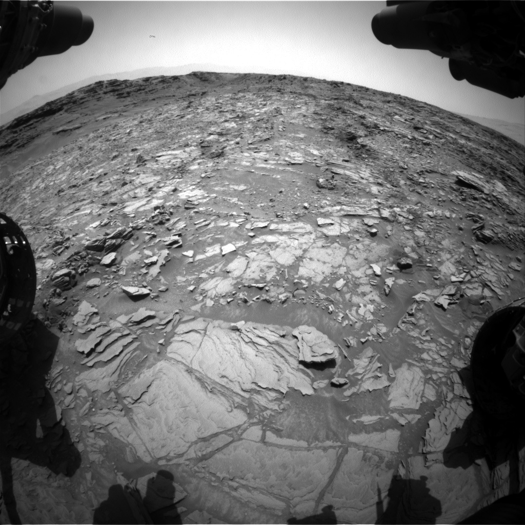 Nasa's Mars rover Curiosity acquired this image using its Front Hazard Avoidance Camera (Front Hazcam) on Sol 1111, at drive 448, site number 50