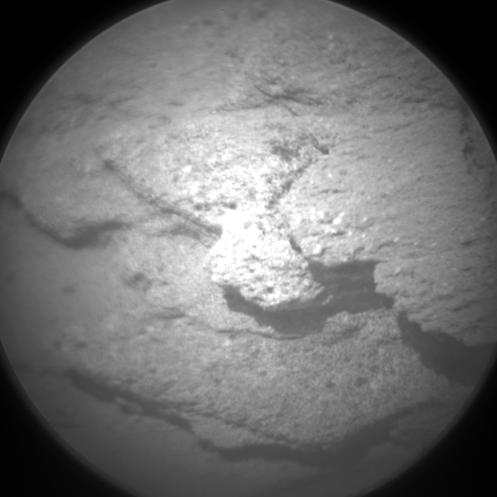 Nasa's Mars rover Curiosity acquired this image using its Chemistry & Camera (ChemCam) on Sol 1112, at drive 448, site number 50