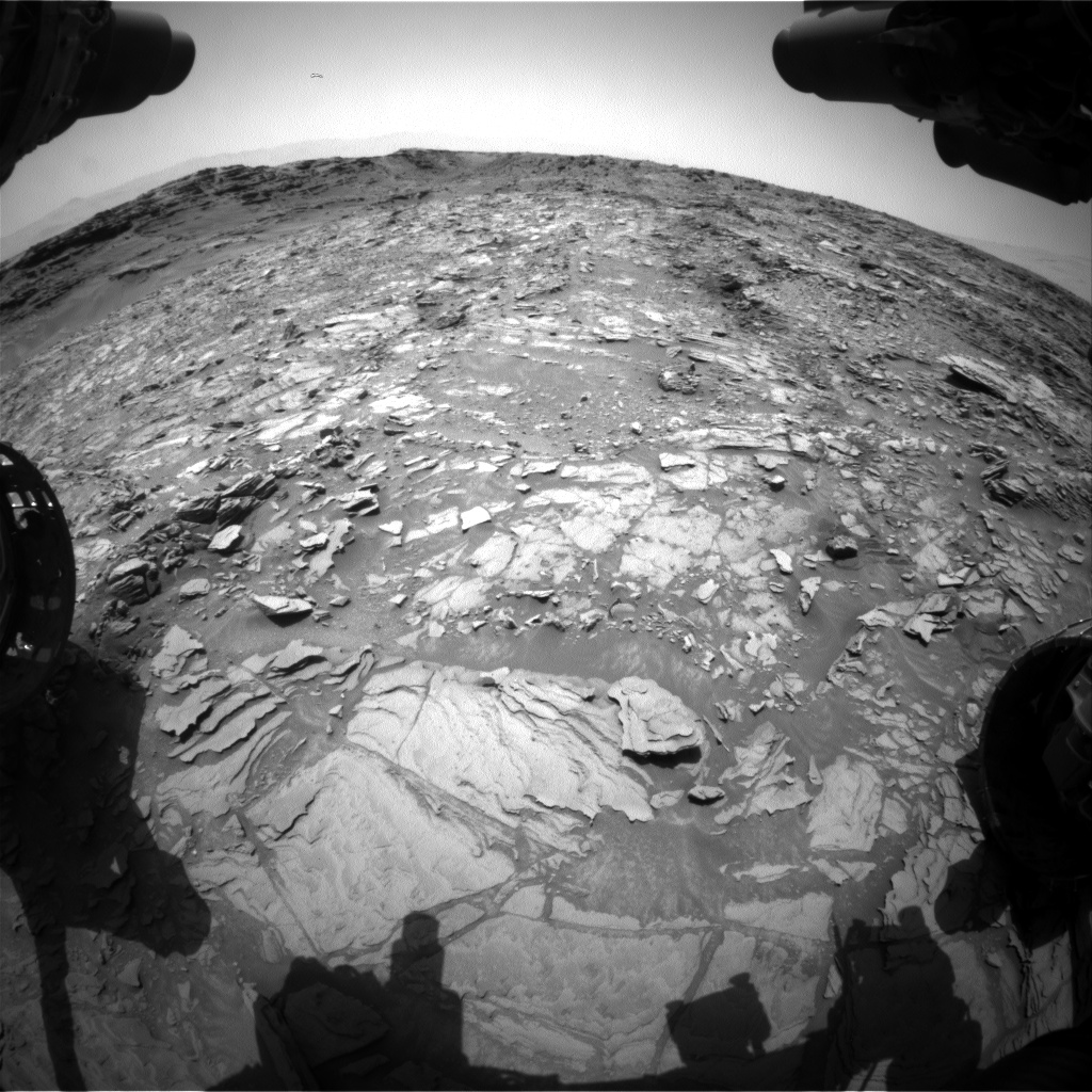 Nasa's Mars rover Curiosity acquired this image using its Front Hazard Avoidance Camera (Front Hazcam) on Sol 1112, at drive 448, site number 50