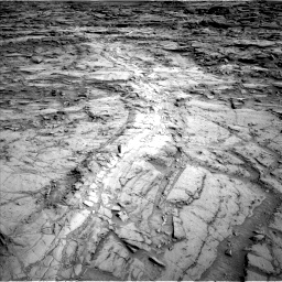 Nasa's Mars rover Curiosity acquired this image using its Left Navigation Camera on Sol 1112, at drive 496, site number 50
