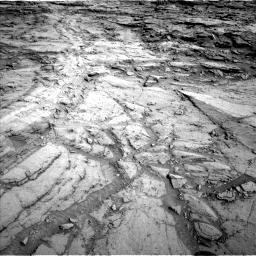 Nasa's Mars rover Curiosity acquired this image using its Left Navigation Camera on Sol 1112, at drive 508, site number 50
