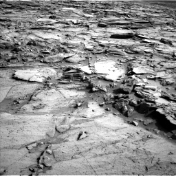 Nasa's Mars rover Curiosity acquired this image using its Left Navigation Camera on Sol 1112, at drive 532, site number 50