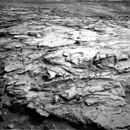 Nasa's Mars rover Curiosity acquired this image using its Left Navigation Camera on Sol 1112, at drive 550, site number 50