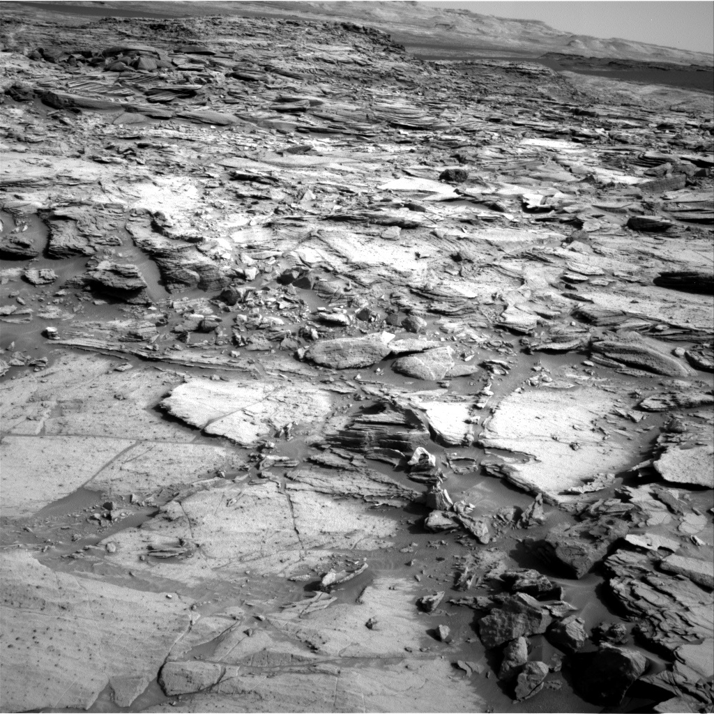Nasa's Mars rover Curiosity acquired this image using its Right Navigation Camera on Sol 1112, at drive 550, site number 50