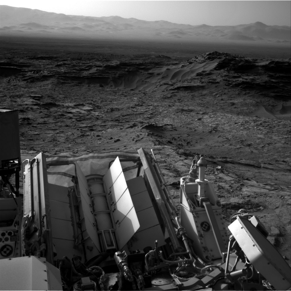 Nasa's Mars rover Curiosity acquired this image using its Right Navigation Camera on Sol 1112, at drive 592, site number 50