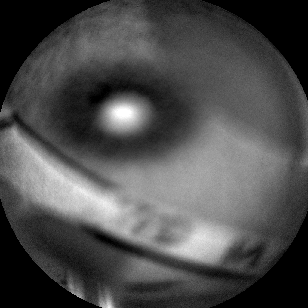 Nasa's Mars rover Curiosity acquired this image using its Chemistry & Camera (ChemCam) on Sol 1113, at drive 592, site number 50