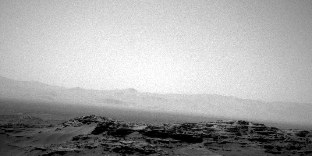 Nasa's Mars rover Curiosity acquired this image using its Left Navigation Camera on Sol 1115, at drive 592, site number 50