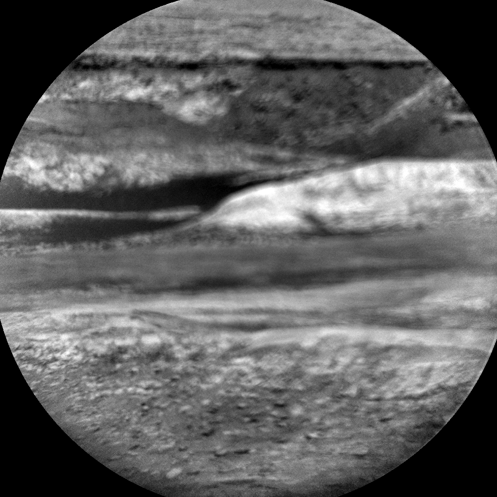 Nasa's Mars rover Curiosity acquired this image using its Chemistry & Camera (ChemCam) on Sol 1115, at drive 592, site number 50