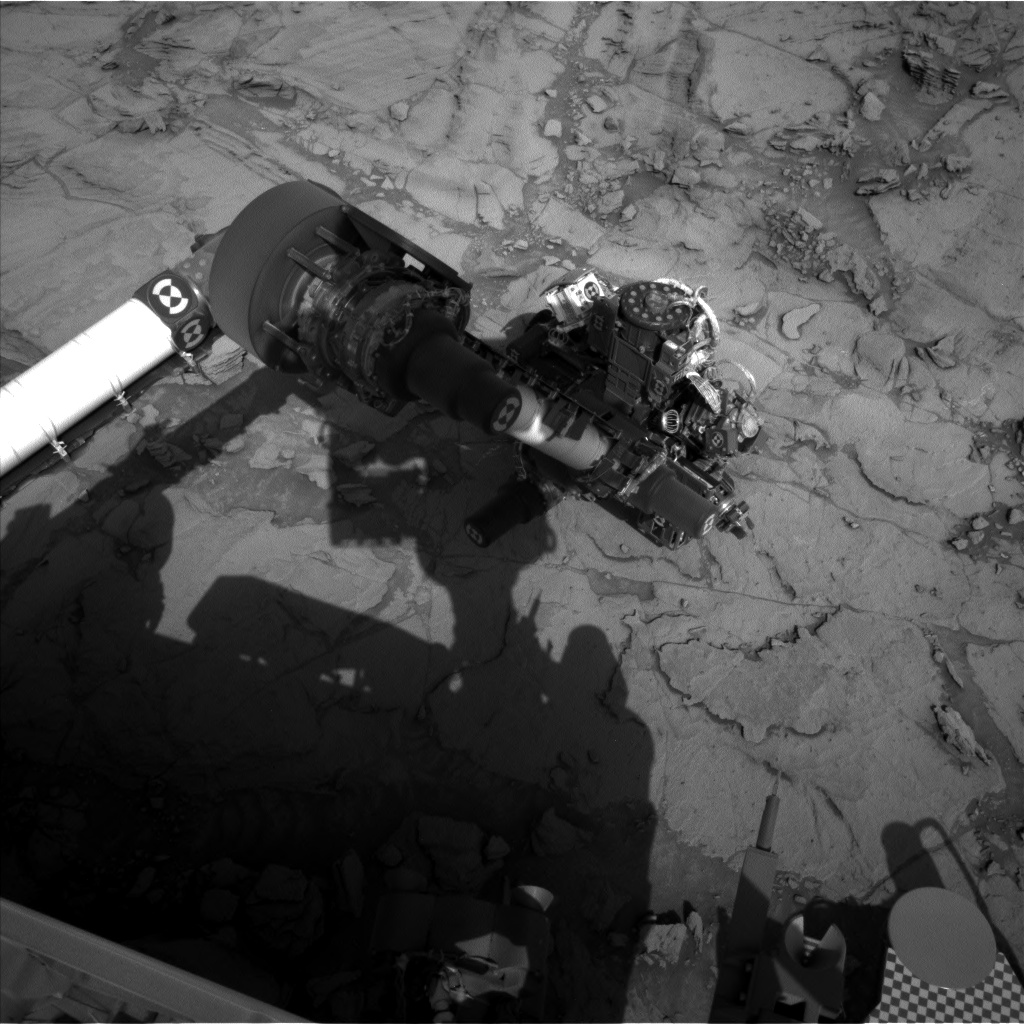 Nasa's Mars rover Curiosity acquired this image using its Left Navigation Camera on Sol 1116, at drive 592, site number 50