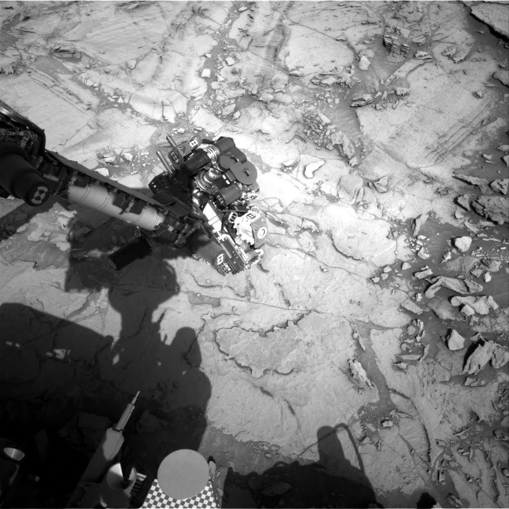 Nasa's Mars rover Curiosity acquired this image using its Right Navigation Camera on Sol 1116, at drive 592, site number 50
