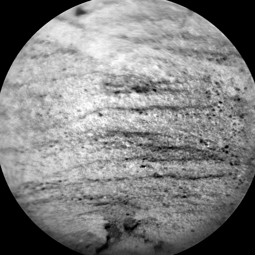 Nasa's Mars rover Curiosity acquired this image using its Chemistry & Camera (ChemCam) on Sol 1118, at drive 592, site number 50