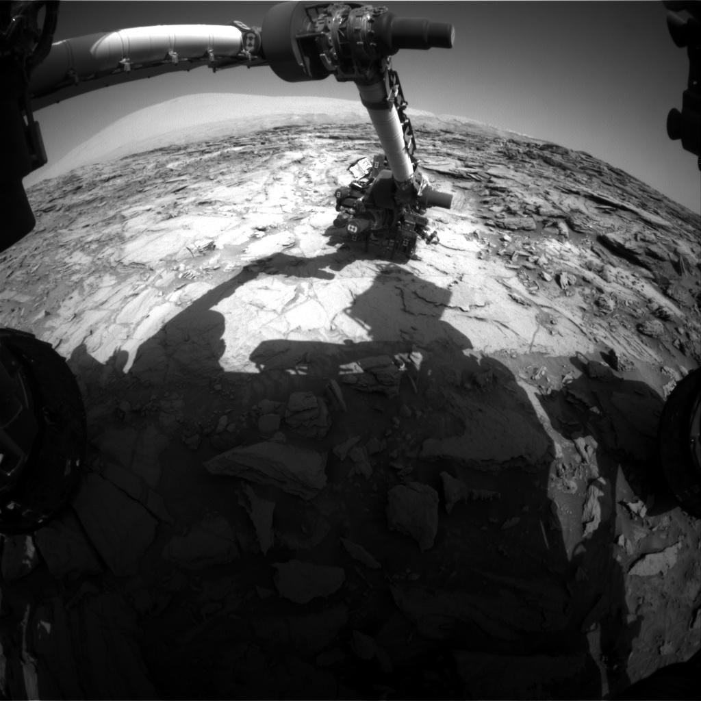 Tiny Martian Inside Curiosity Rover's Wheel? - YouTube