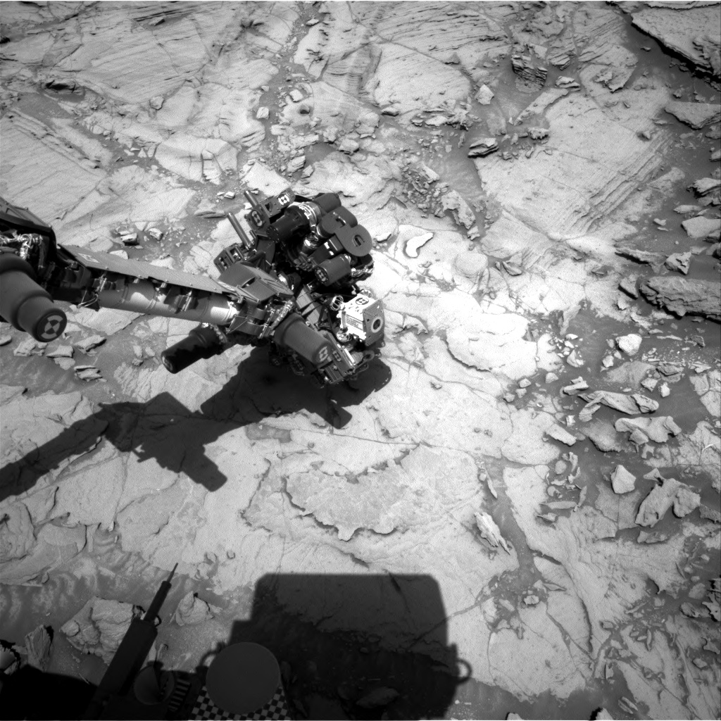 Nasa's Mars rover Curiosity acquired this image using its Right Navigation Camera on Sol 1119, at drive 592, site number 50