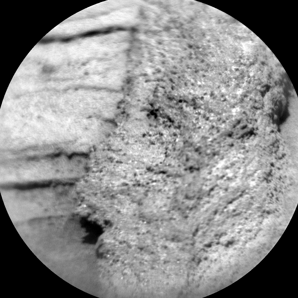 Nasa's Mars rover Curiosity acquired this image using its Chemistry & Camera (ChemCam) on Sol 1121, at drive 592, site number 50
