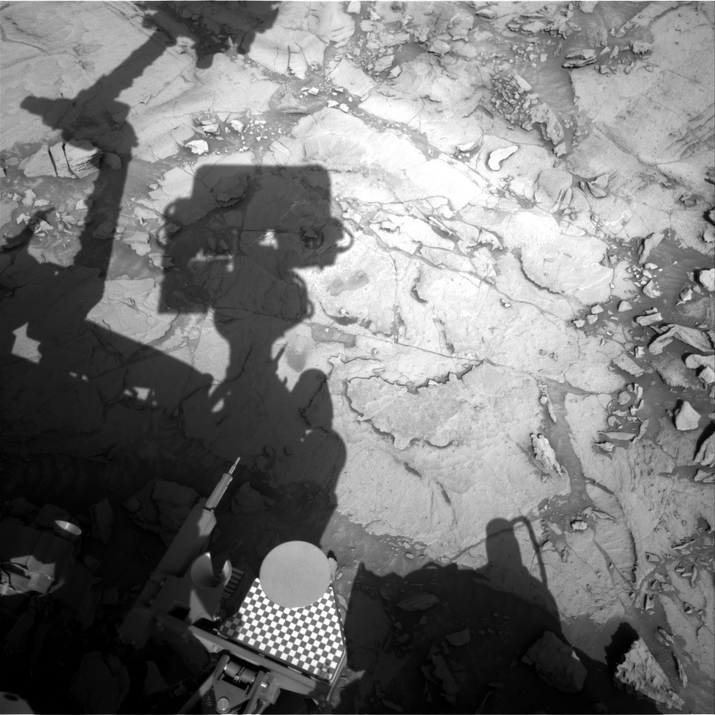 Nasa's Mars rover Curiosity acquired this image using its Right Navigation Camera on Sol 1123, at drive 592, site number 50