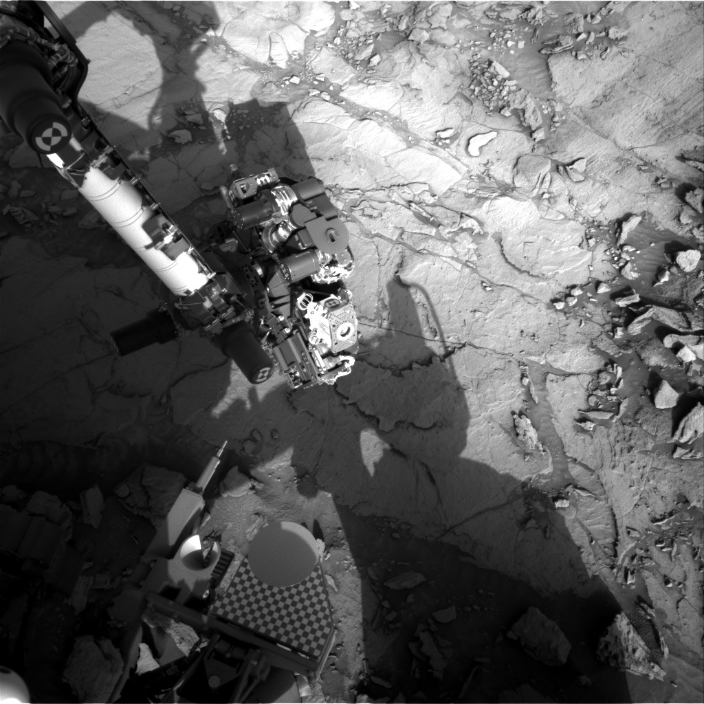 Nasa's Mars rover Curiosity acquired this image using its Right Navigation Camera on Sol 1124, at drive 592, site number 50