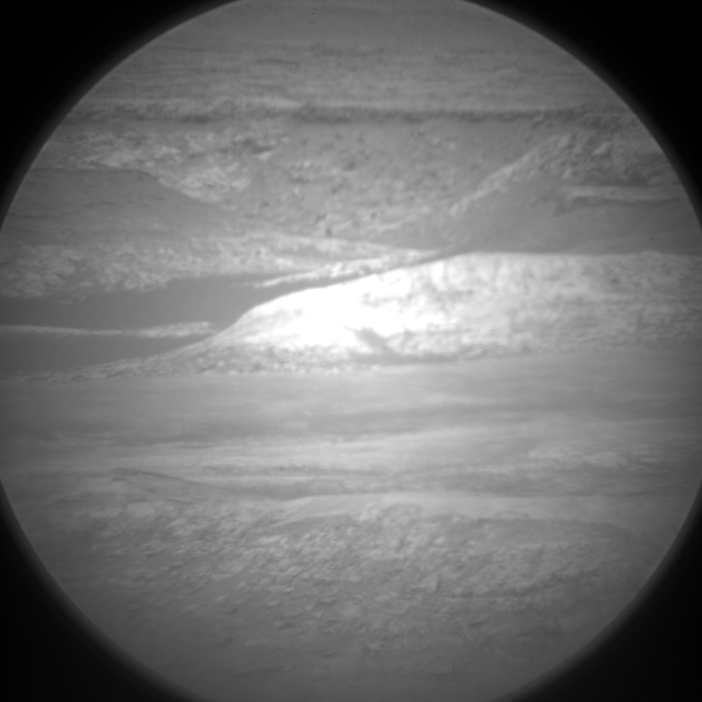 Nasa's Mars rover Curiosity acquired this image using its Chemistry & Camera (ChemCam) on Sol 1126, at drive 592, site number 50