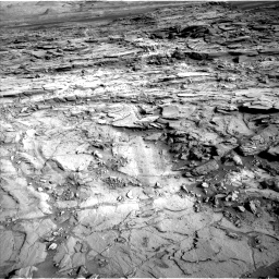Nasa's Mars rover Curiosity acquired this image using its Left Navigation Camera on Sol 1127, at drive 628, site number 50