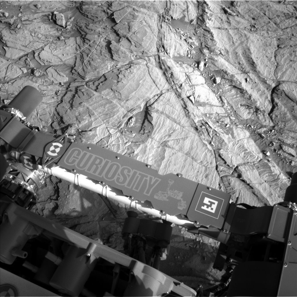 NASA's Mars rover Curiosity acquired this image using its Left Navigation Camera (Navcams) on Sol 1127