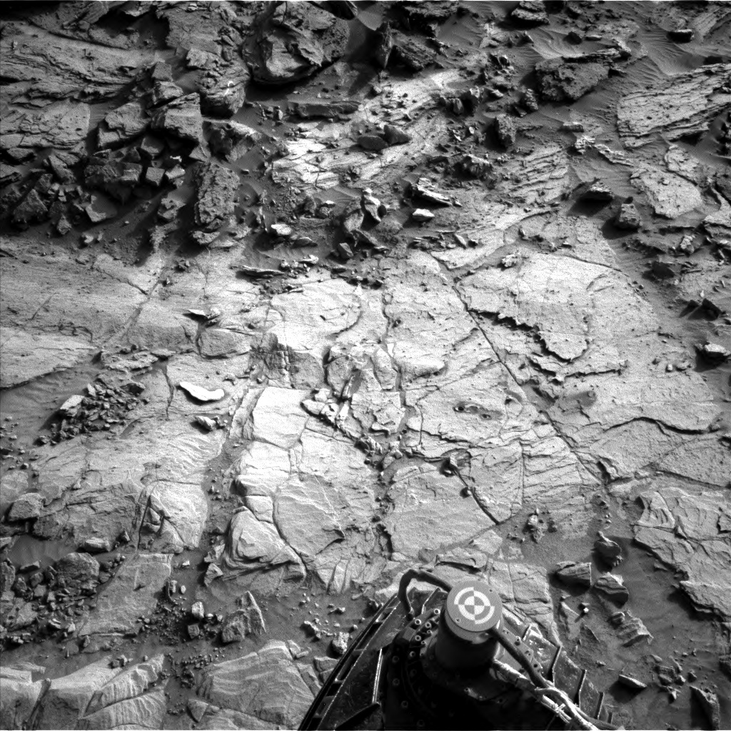Nasa's Mars rover Curiosity acquired this image using its Left Navigation Camera on Sol 1127, at drive 676, site number 50