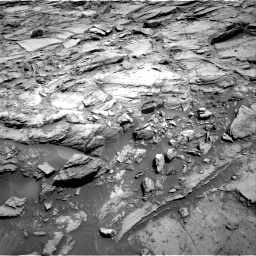 Nasa's Mars rover Curiosity acquired this image using its Right Navigation Camera on Sol 1127, at drive 592, site number 50