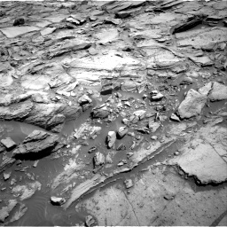Nasa's Mars rover Curiosity acquired this image using its Right Navigation Camera on Sol 1127, at drive 598, site number 50