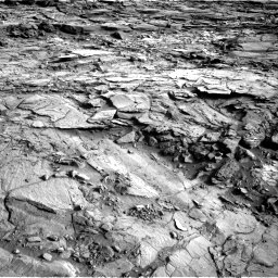 Nasa's Mars rover Curiosity acquired this image using its Right Navigation Camera on Sol 1127, at drive 670, site number 50