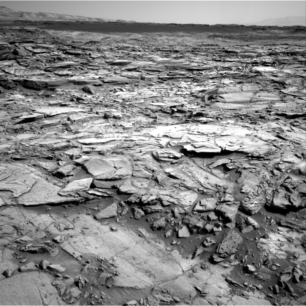 Nasa's Mars rover Curiosity acquired this image using its Right Navigation Camera on Sol 1128, at drive 676, site number 50