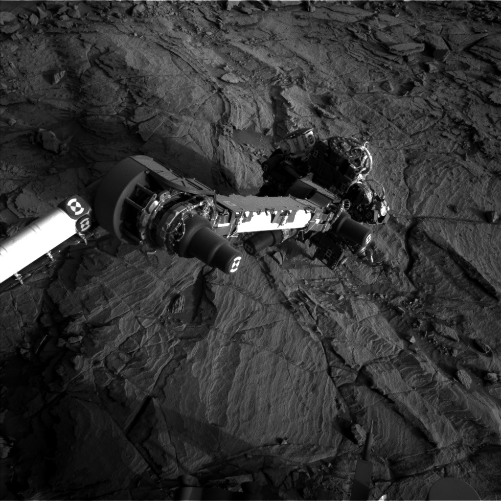 Nasa's Mars rover Curiosity acquired this image using its Left Navigation Camera on Sol 1130, at drive 676, site number 50