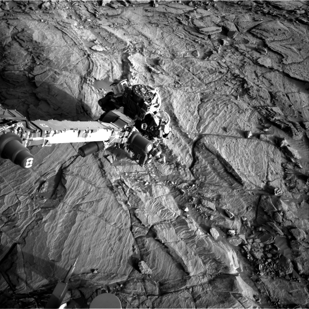 Nasa's Mars rover Curiosity acquired this image using its Right Navigation Camera on Sol 1130, at drive 676, site number 50