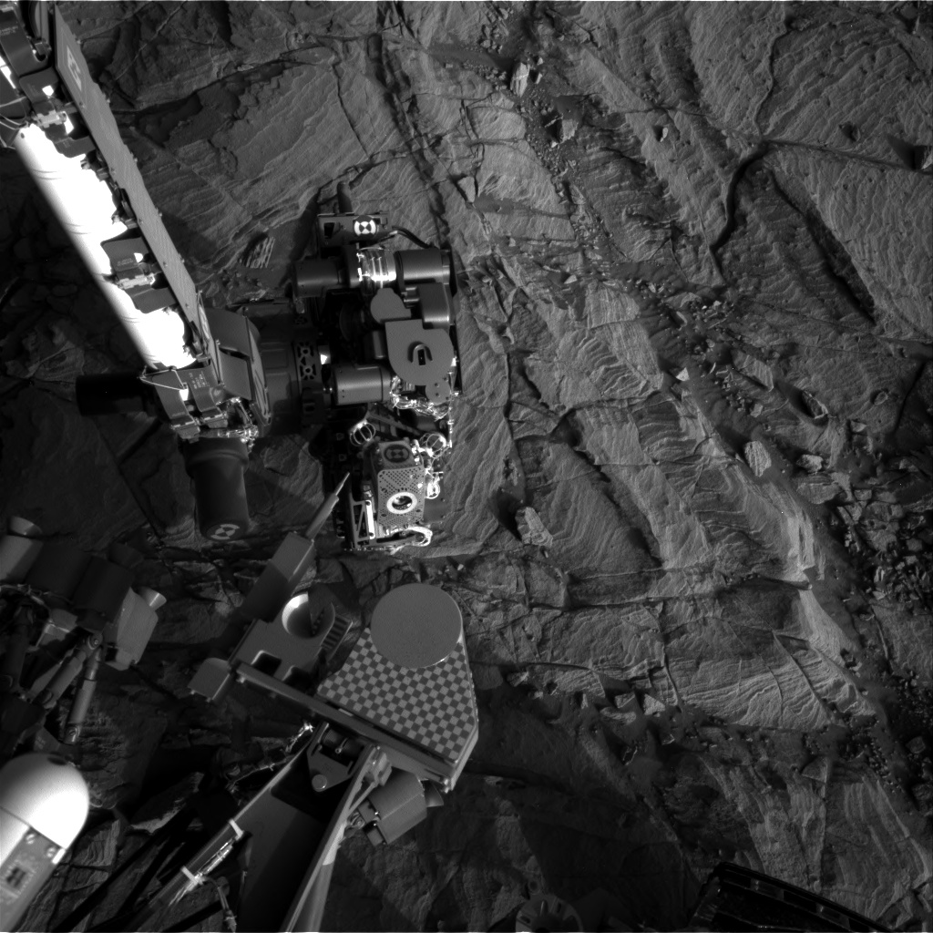 Nasa's Mars rover Curiosity acquired this image using its Right Navigation Camera on Sol 1132, at drive 676, site number 50